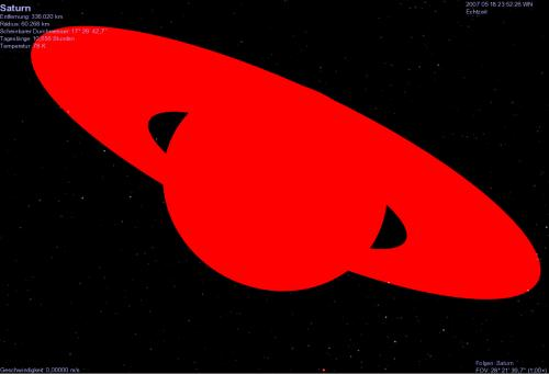 Roter Saturn